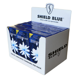 Shield Blue 12x12