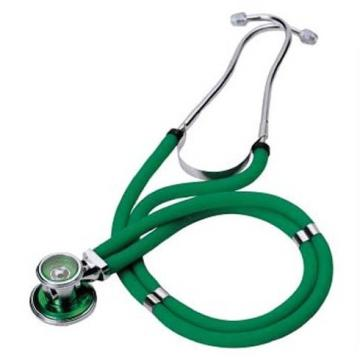 Sprague Rappaport type stethoscope green (002)